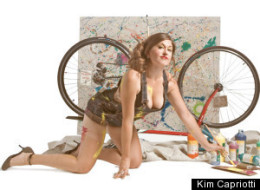 PHOTOS: Pin-Ups And Their Bikes, For A Good Cause