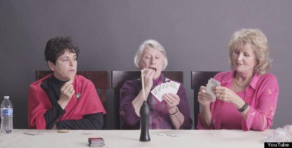 grannies getting high