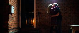 COUPLE EMBRACE NIGHT