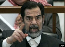 Saddam Hussein Koran Blood