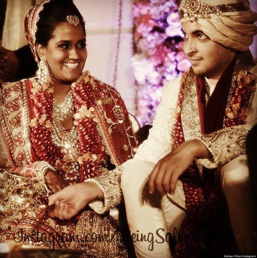 Arpita Khan S Wedding Was An Extravagant Bollywood Affair