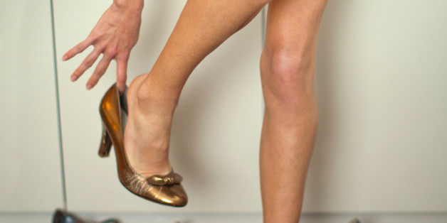 Wear High Heels Women, Helping Men Better