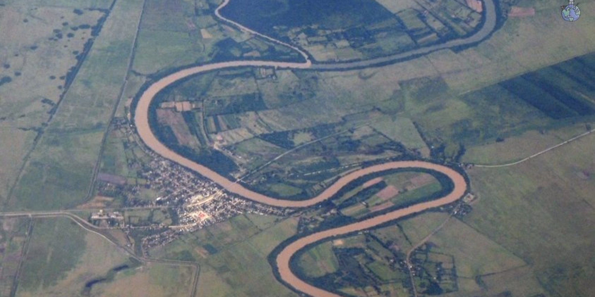 Here S Why Rivers Almost Never Flow In A Straight Line