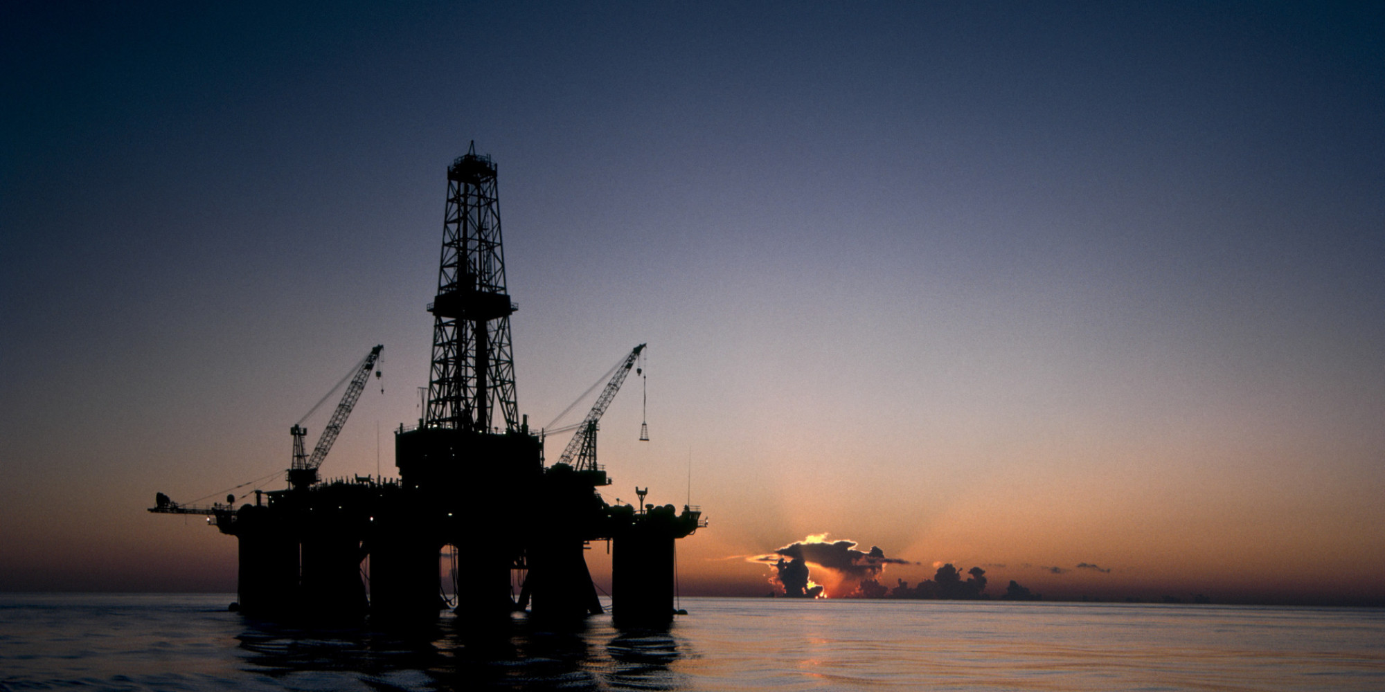 Oil Rig Explosion In Gulf Of Mexico Leaves 1 Dead, 3 ...
