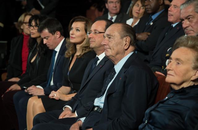 Hollande et Chirac