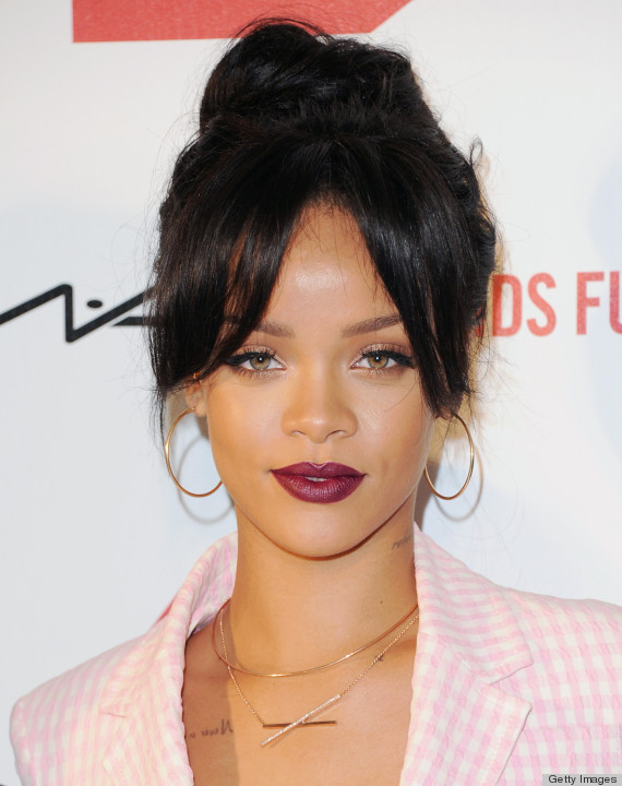 Thanks Rihanna Now We Want This Lipstick Color Huffpost