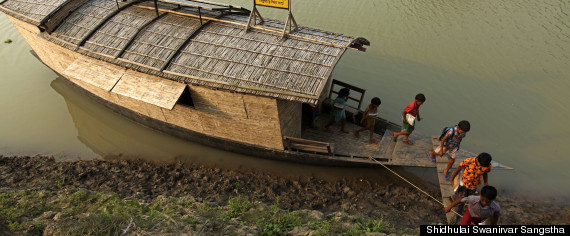 floating school bangladesh