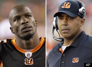 Chad Ochocinco Marvin Lewis