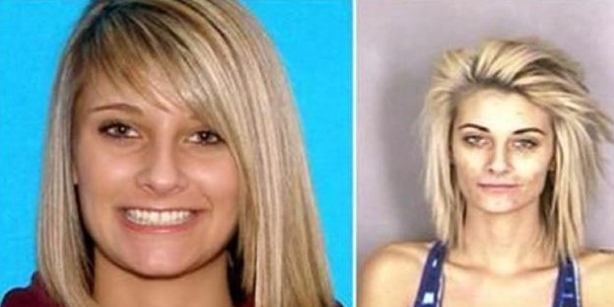 Celebrity pics before and after drugs mugshots