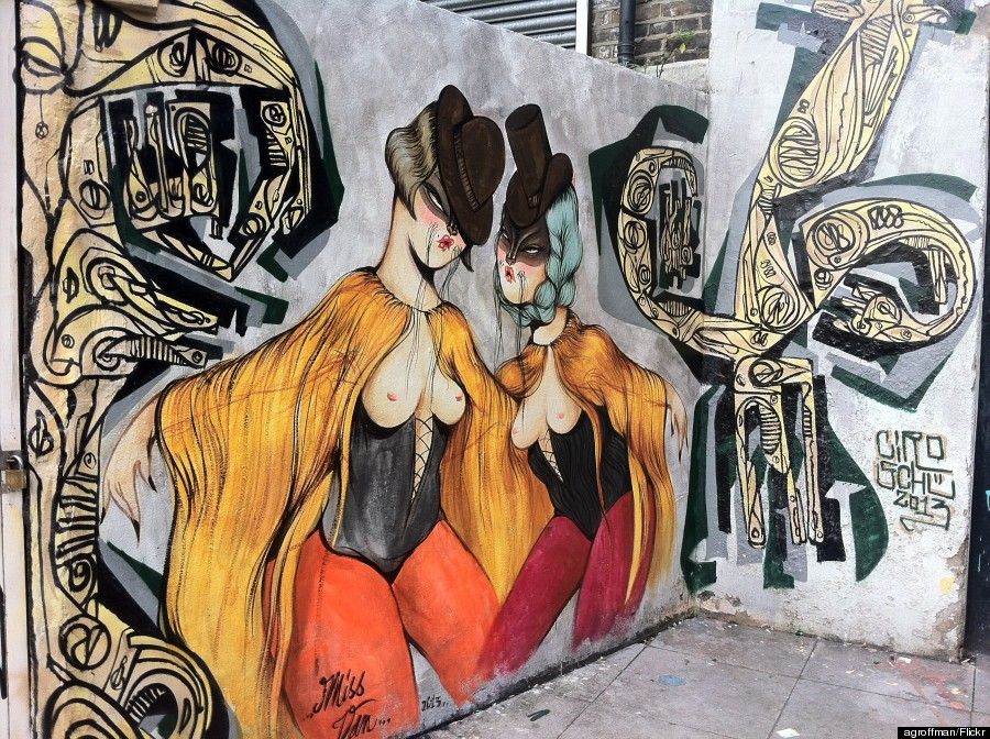 miss van street art