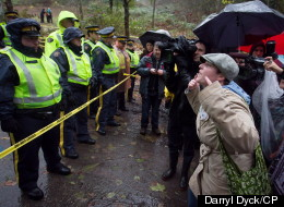 Burnaby Mountain Policing Costs Not Our Problem: Kinder Morgan