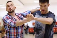 Dancers preparing for Strictly show | Pic: BBC