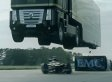WATCH: Daredevils Jump Semi Over An F1 Racer