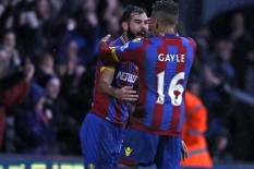 Crystal Palace players celebrate | Pic: Getty