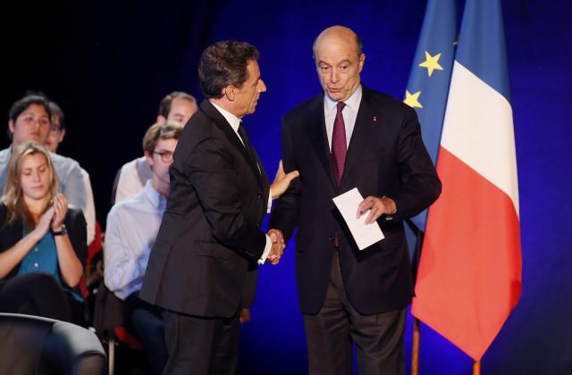 Sarkozy et Juppé