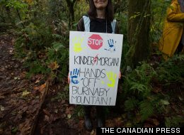 Protesters Unapologetic About Taking Kids Across B.C. Police Line