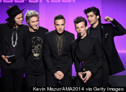 1D Lead AMAs Winners