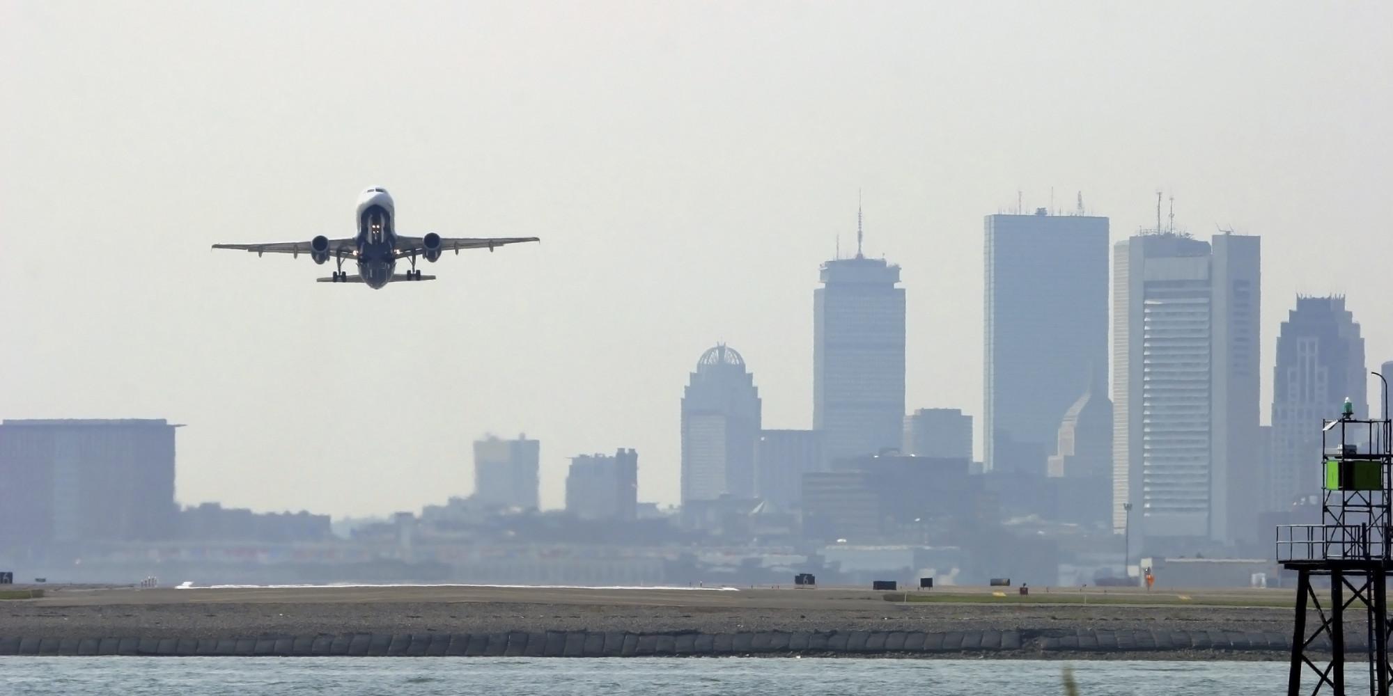 Naked Man Cameron Shenk Falls Through Boston Airport