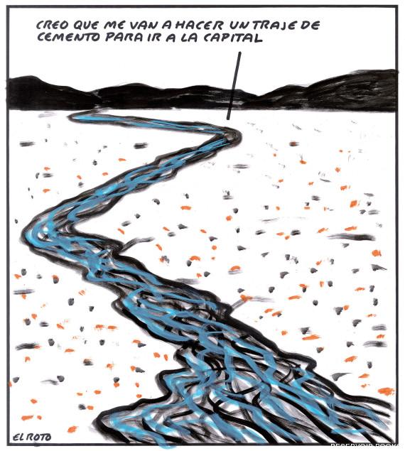 el roto río