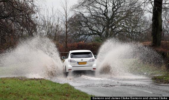 car flood water