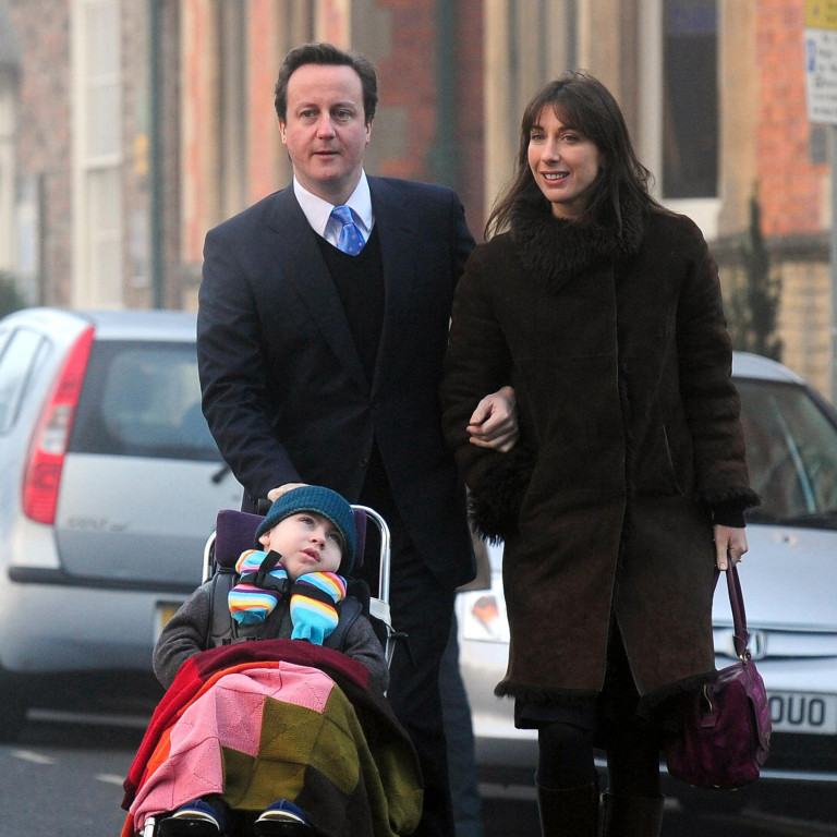 david cameron, samantha cameron and ivan cameron