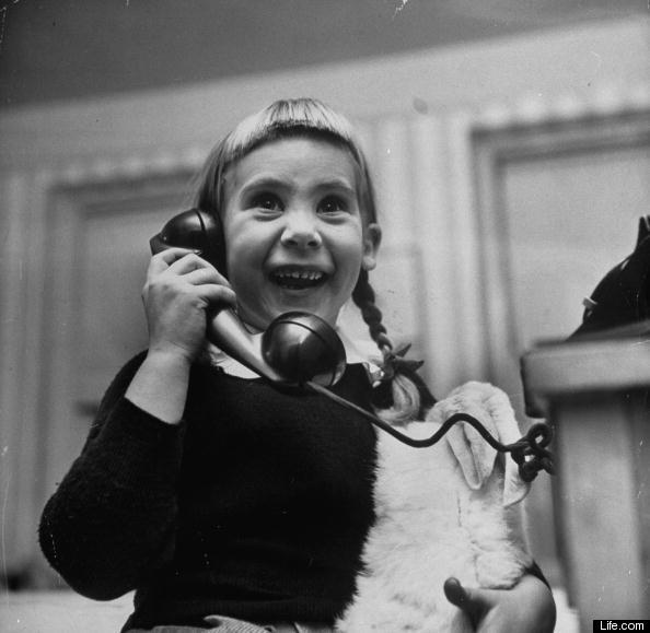Kids Talking To Santa In 1947 Rare Pictures From Life Com