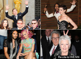 20 Pics Of Celebs Photobombing Other Celebs