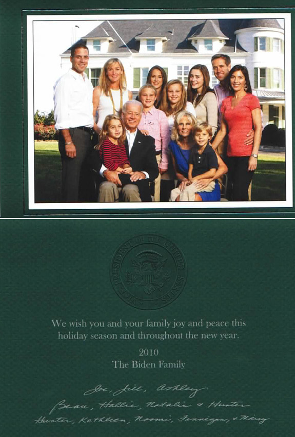 images of obama family christmas in 2010