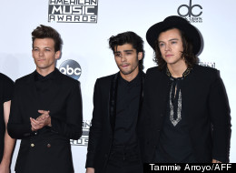 One Direction Cleaned Up At The AMAs, But They Looked Really Sad