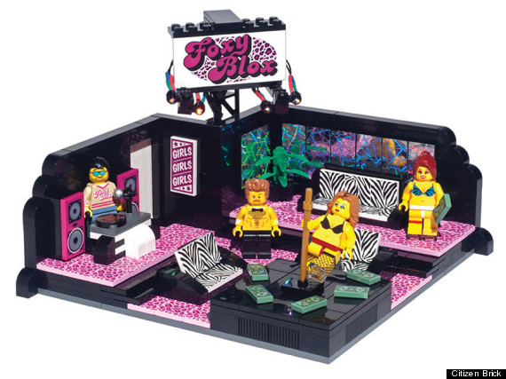 Welp A Lego Strip Club Is A Thing That Exists Huffpost