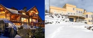 SKI HOMES LODGES CHALETS CANADA