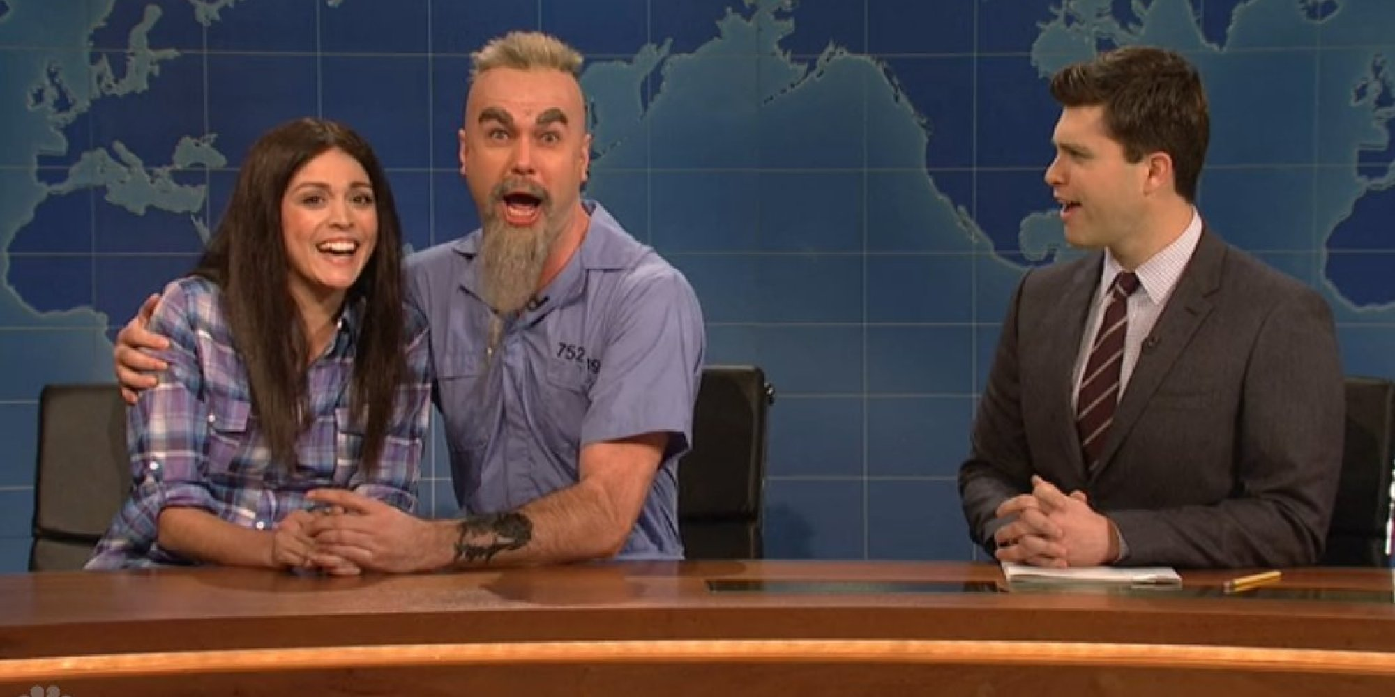 SNL' Brings Charles Manson And Star Burton Together On 'Weekend ...