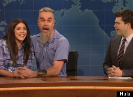Charles Manson And Star Burton On 'Weekend Update' Are Utterly Insane