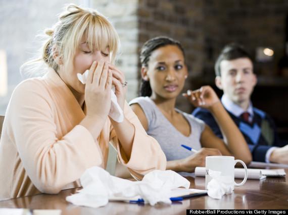 sneeze office