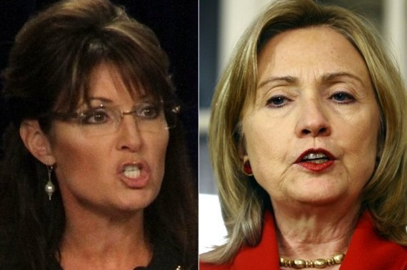 Hillary Clinton Sarah Palin Admired
