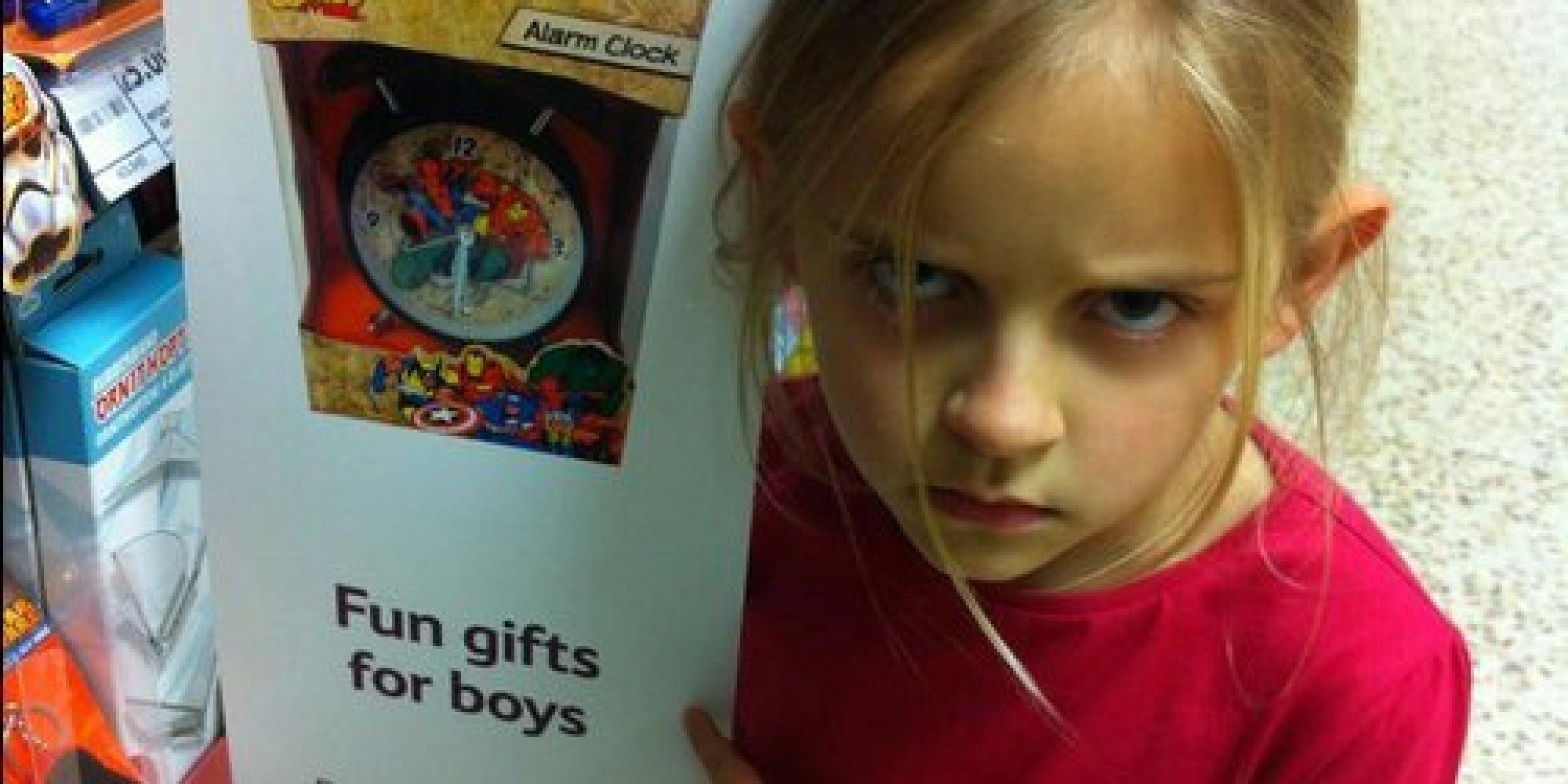Anybody can like superheroes little girl s viral photo makes tesco