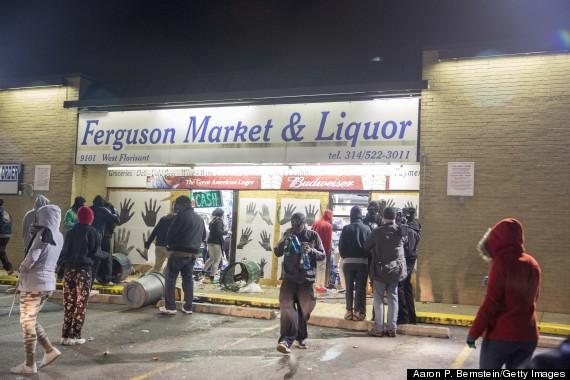 ferguson looters