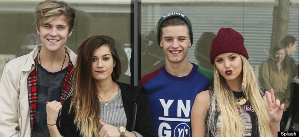 WATCH Only The Young Impersonate All Four 'X Factor' Judges