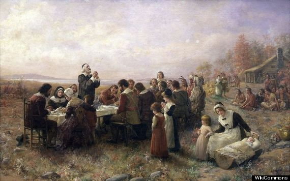 How Thanksgiving Tables And Traditions Got That Way