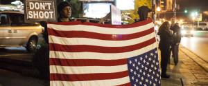 American Flag Ferguson