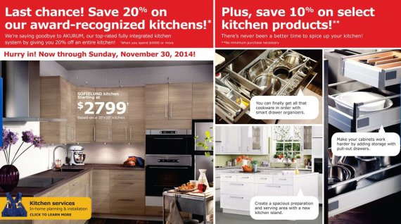Ikea Kitchen Sales 2016 | Yes Even Ikea Has Black Friday Deals This Weekend And Free Meals