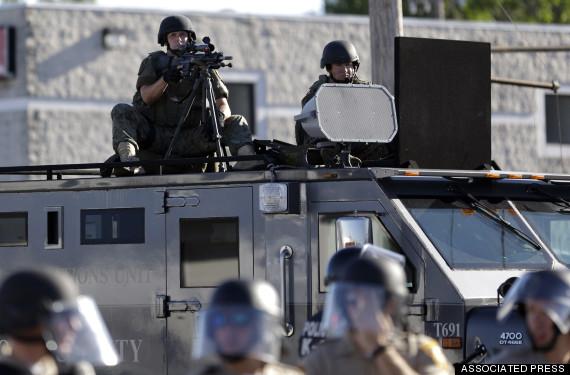 ferguson militarization