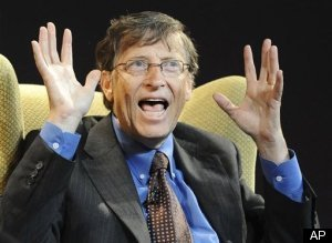 Bill Gates Most Admired