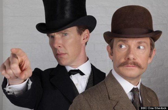 Sherlock Special Picture Teases Us For The Christmas Special