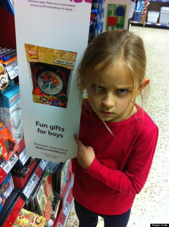 Unique Fun For Little Boys Toys : Little girl shuts down the idea that superheroes are just