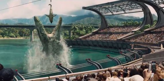 jurassic world video