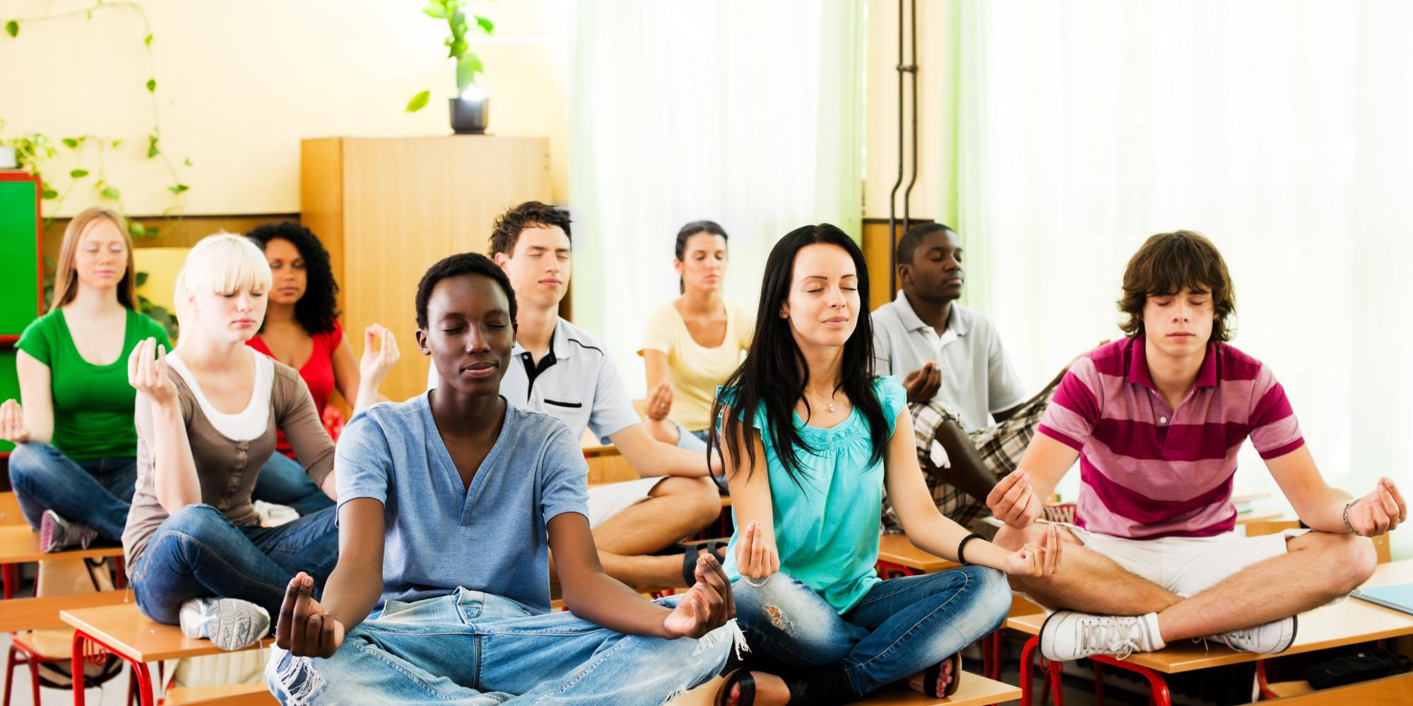 Image result for meditation teenager