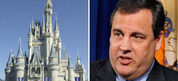 Chris Christie Disney World Blizzard