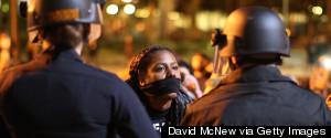 BLACK FERGUSON PROTESTORS