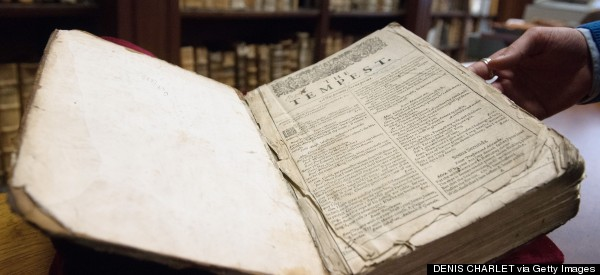 Rare First Folio Of Shakespeare Discovered In French Library